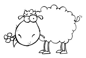 April clipart free black and white sheep vector black and white download April clipart free black and white sheep - ClipartFest vector black and white download