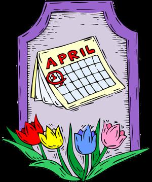 April clipart images. Clip art teachers clipartfest