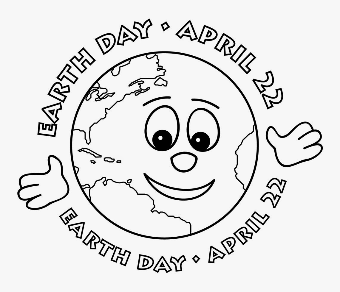 April earth day clipart black and white svg library library Earth day clipart black and white - ClipartFest svg library library