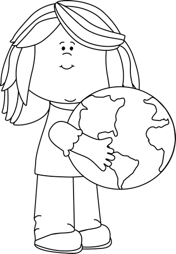 April earth day clipart black and white png black and white Earth Day Clip Art - Earth Day Images png black and white