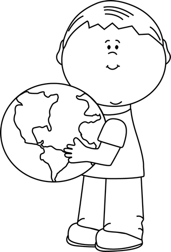April earth day clipart black and white clip free Earth Day Clip Art - Earth Day Images clip free