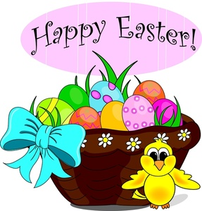 Clipart images of easter