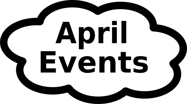 April events coming up clipart black and white picture freeuse April Calendar Pictures - Cliparts.co picture freeuse