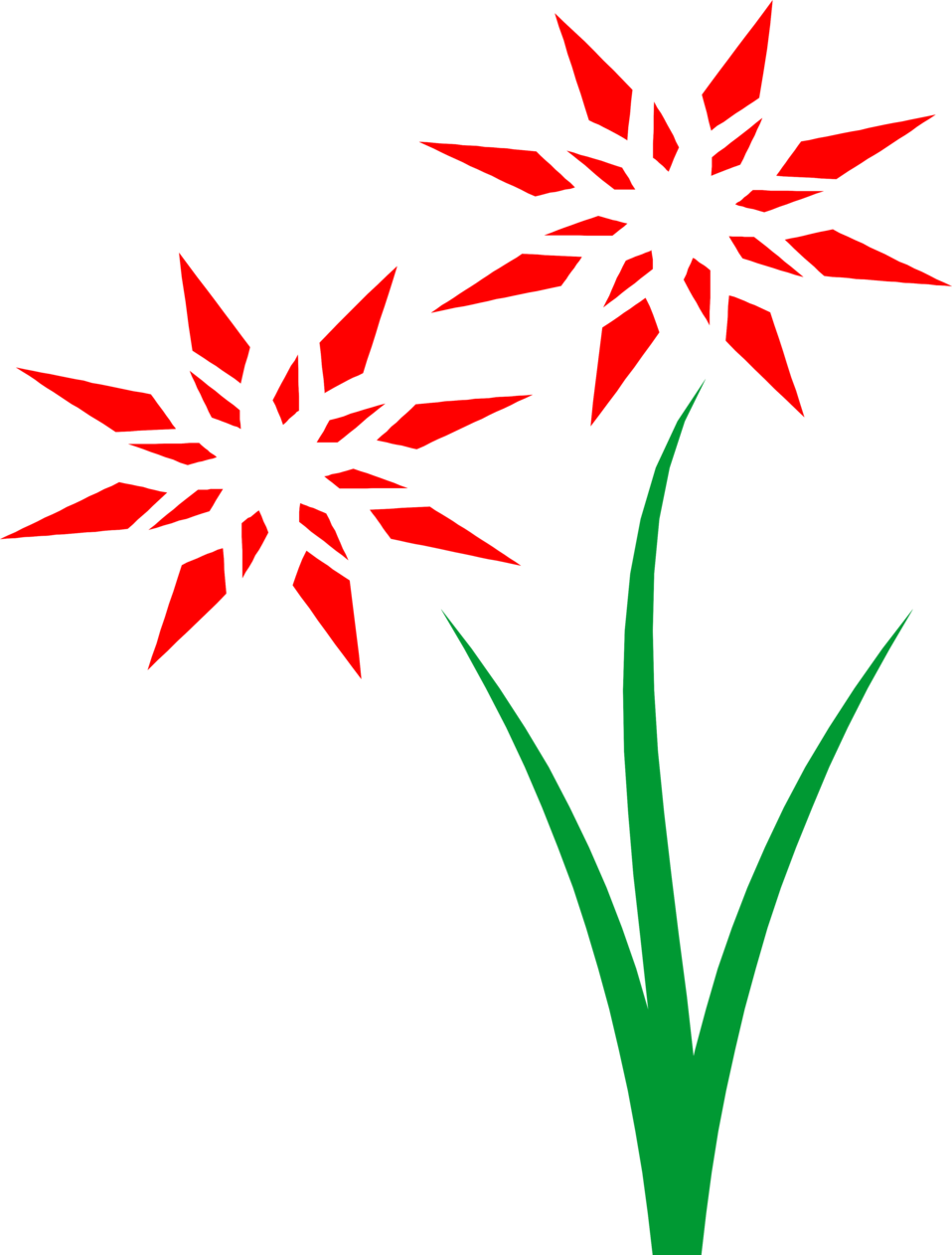 Flowers image free freeuse Flowers Red | Free Stock Photo | Illustration of red flowers | # 9759 freeuse