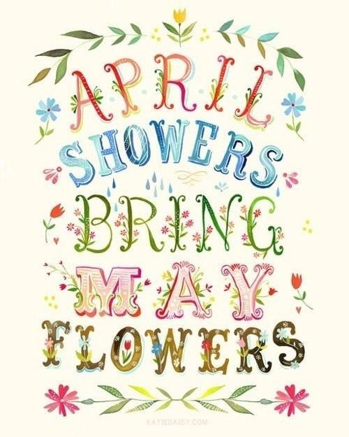 April flowers clips jpg freeuse library 17 Best images about Day quotes on Pinterest | Wednesday humor ... jpg freeuse library