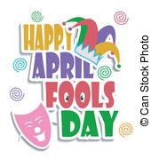 April fools clip art. Day illustrations and stock