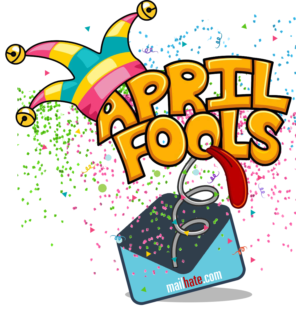 April fools day clipart. Glitter bomb