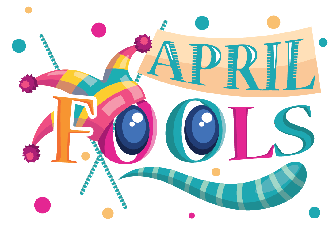 . April fools day clipart