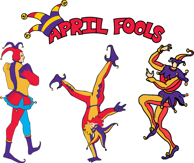 Fool clipart group day. April fools clip art