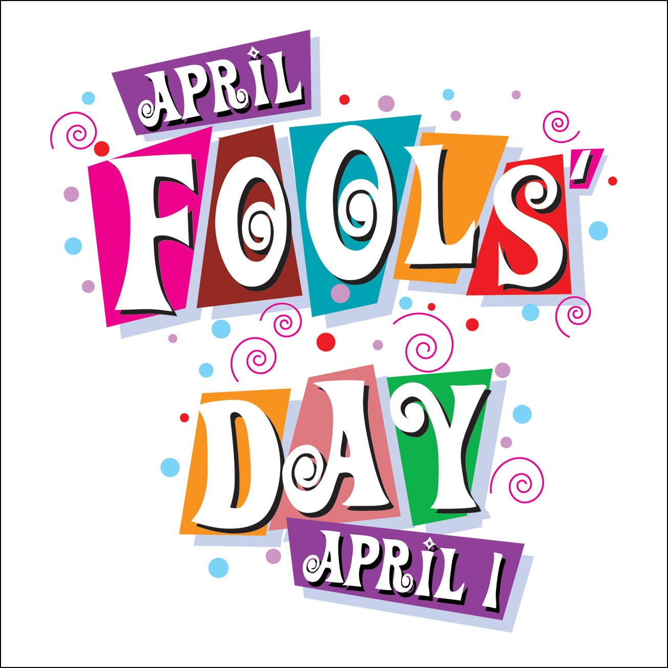 Joke clip art free. April fools day clipart