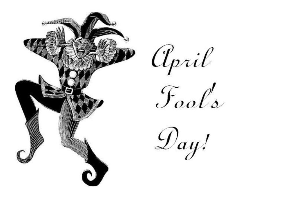 April fools day clipart black and white image royalty free stock April fools day clipart black and white - ClipartFest image royalty free stock