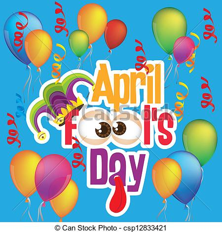April fools day clipart free clip royalty free stock Vector Illustration of April Fool's Day - Illustration of April ... clip royalty free stock