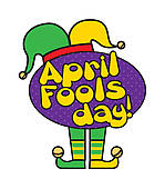 April fools day clipart free