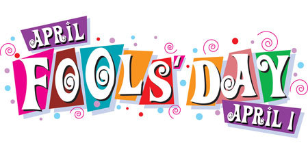 April fools dayv for kids clipart banner black and white All About April Fools' Day | Pranks | 1st | Jokes | History | Trick banner black and white