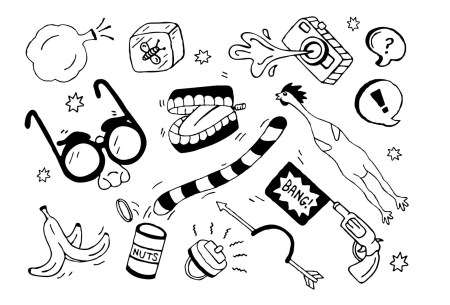 Day sketch drawing activities. April fools dayv for kids clipart