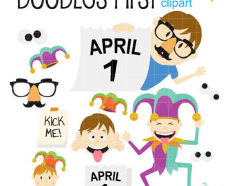 April fools dayv for kids clipart jpg library stock April fools day | Etsy jpg library stock