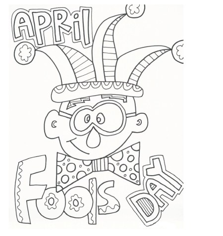 April fools dayv for kids clipart image April fools day 2017 Clipart, Sketch & Drawing activities ideas ... image