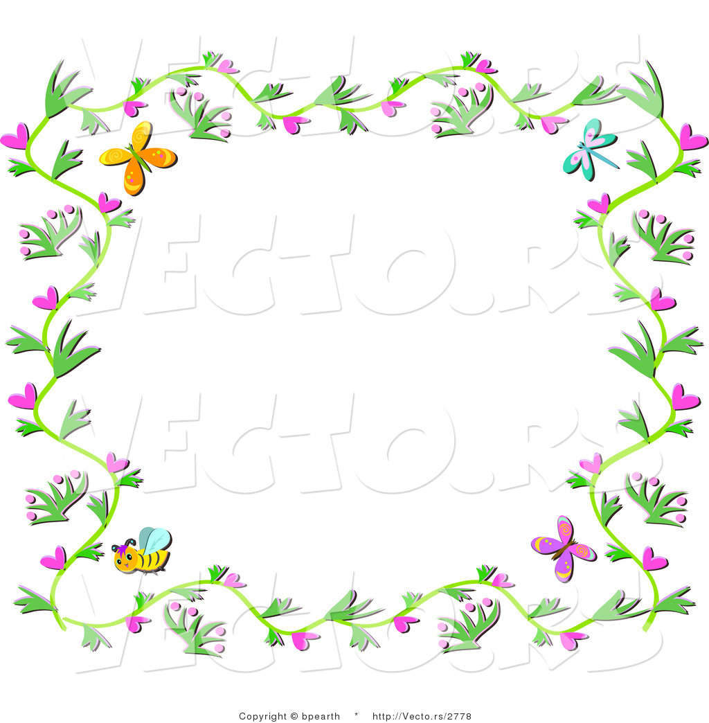April frame clipart images clipart freeuse April Border Clipart (95+ images in Collection) Page 1 clipart freeuse