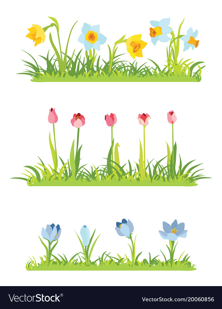 April frame clipart images graphic library library Set of spring april flowery borders for easter graphic library library