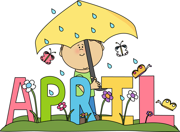 Cliparts download clip art. Free month of april clipart