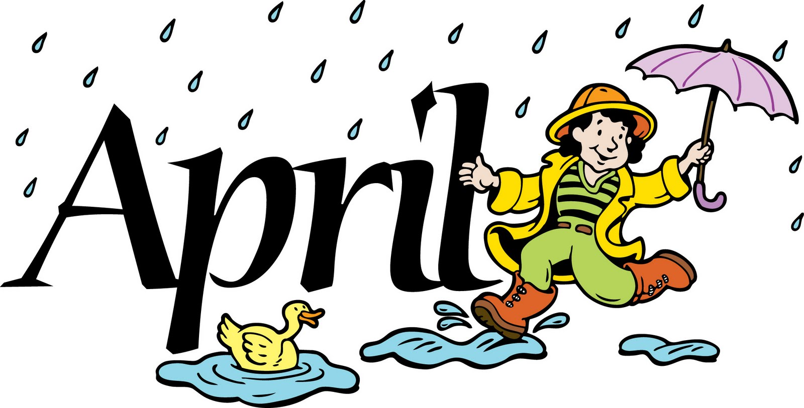 Free month of april clipart. Cliparts download clip art
