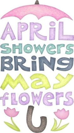 April images clipart free download April showers clipart to color - ClipartFest free download