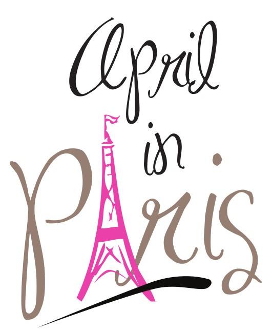 April in paris clipart