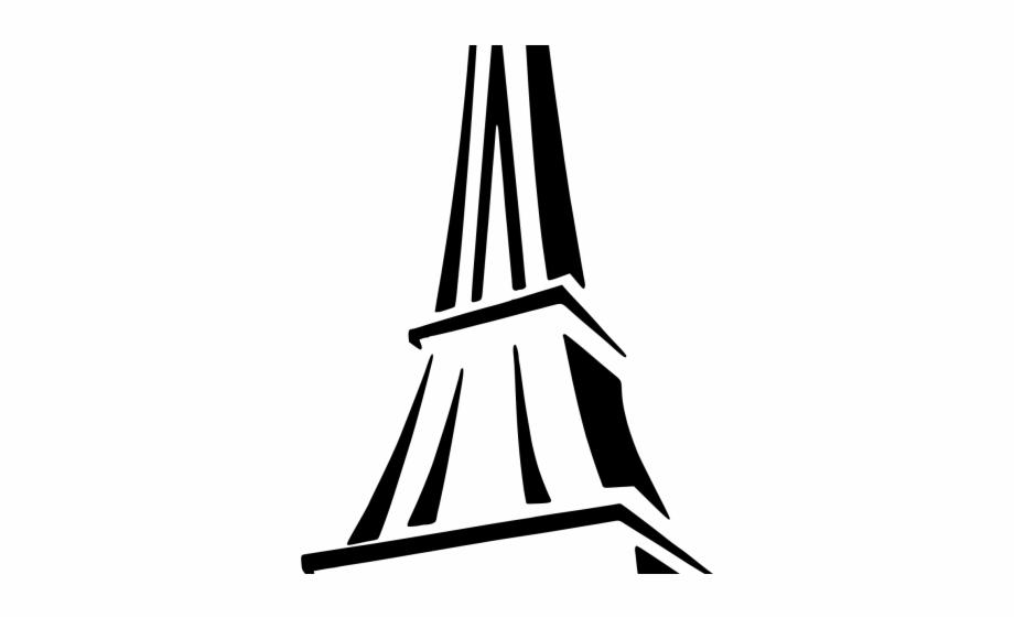 April in paris clipart stock Drawn Eiffel Tower Silhouette - Paris Eiffel Tower Cartoon Free PNG ... stock
