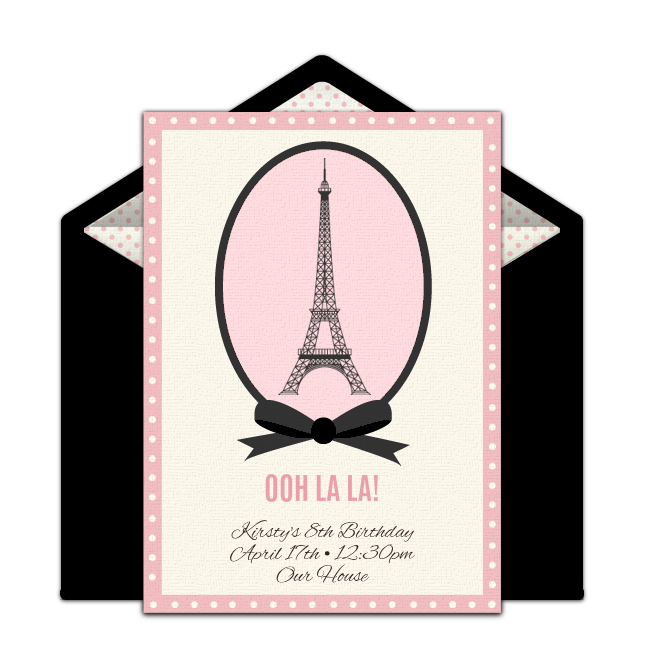 April in paris clipart image download Paris invitations templates free clipart images gallery for free ... image download