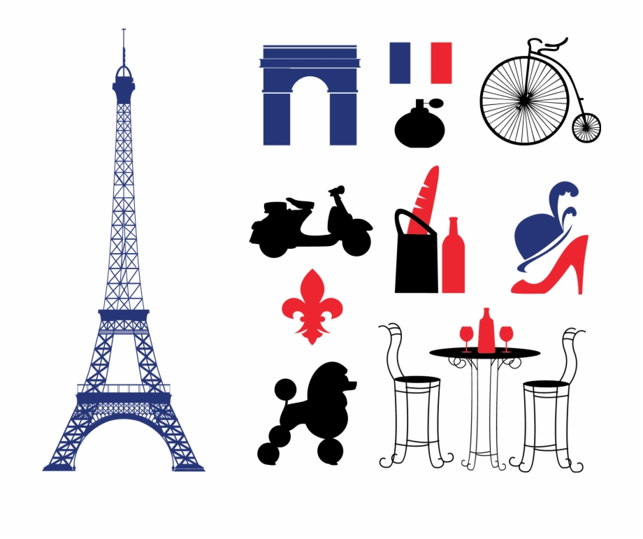April in paris clipart svg black and white download Eiffel Tower Euclidean Vector Clip Art - Paris Icons Free PNG Images ... svg black and white download