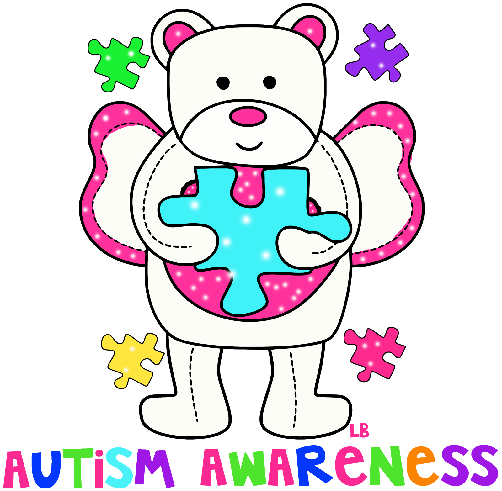 April images clipart clipart freeuse stock April is autism awareness month clip art - ClipartFest clipart freeuse stock