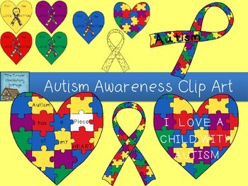 April is autism awareness month clip art vector freeuse download The Lower Elementary Cottage: Autism Awareness Month! vector freeuse download