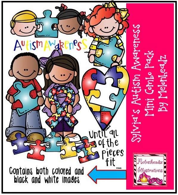 April is autism awareness month clip art clip library MelonHeadz: National Autism Awareness Month clip library