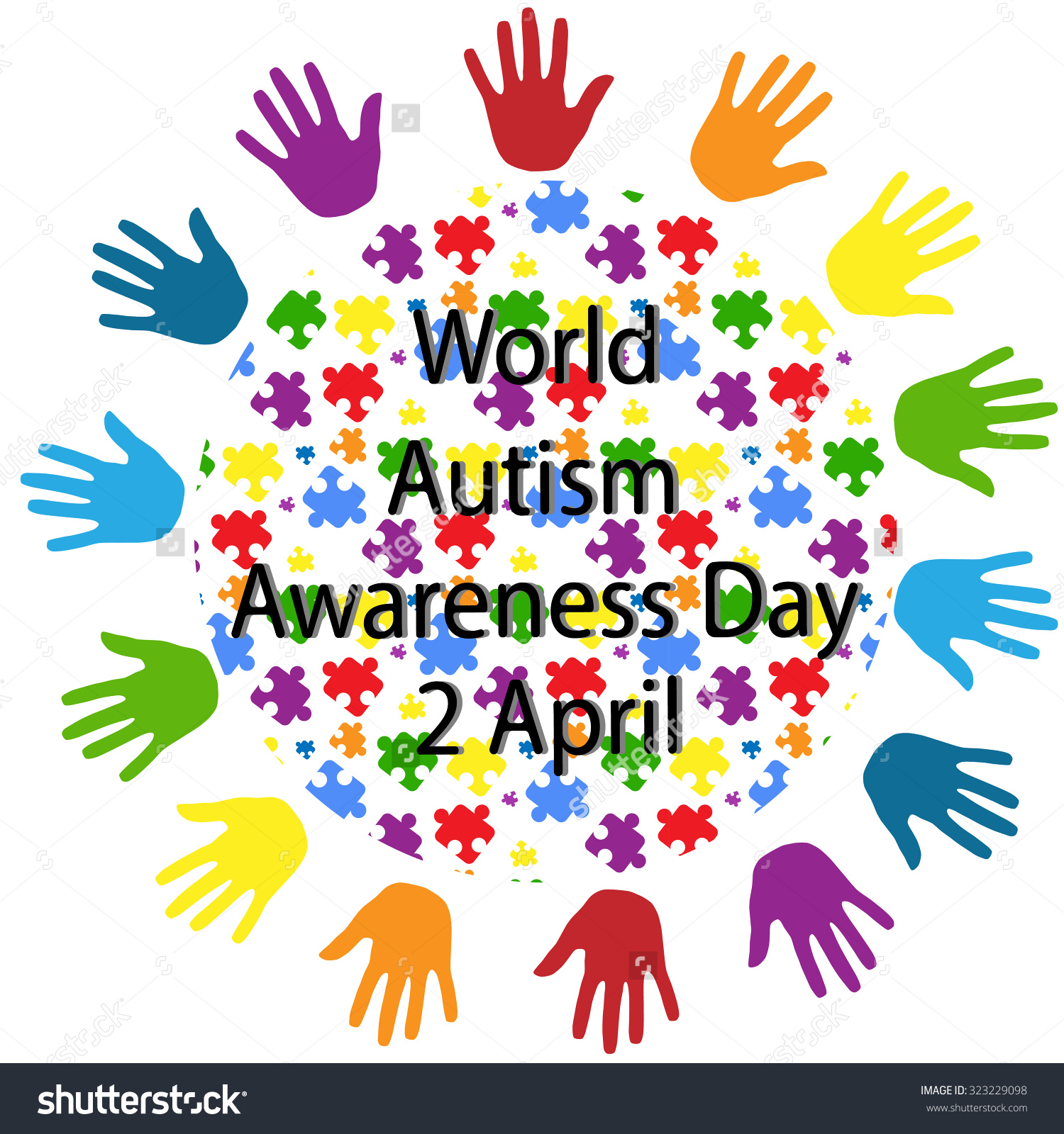 April is autism awareness month clip art image royalty free library Autism awareness day clipart - ClipartFox image royalty free library