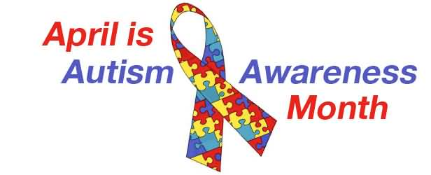 best world day. April is autism awareness month clip art