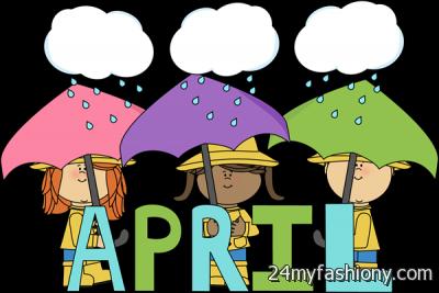Images b fashion. April month clipart