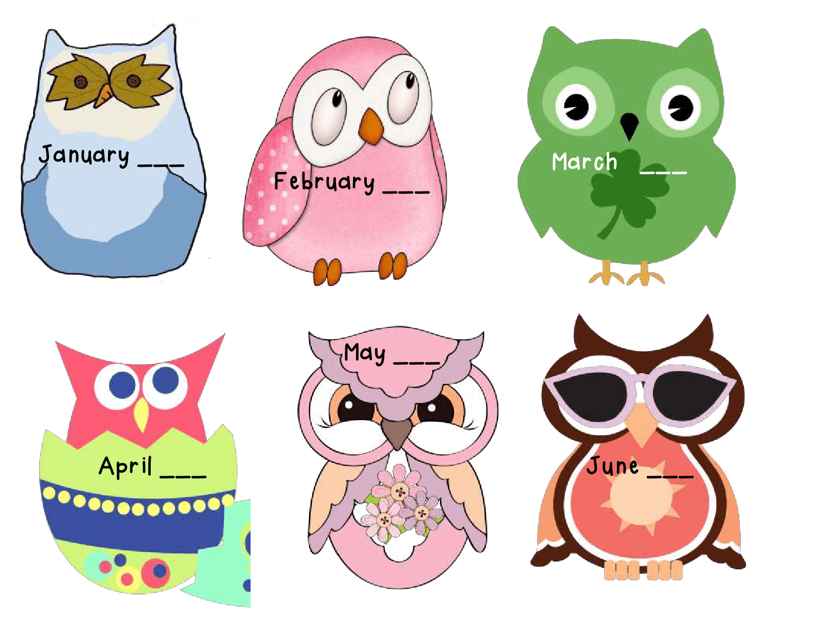 April owl clipart image free library Cliparts June Owl - Cliparts Zone image free library