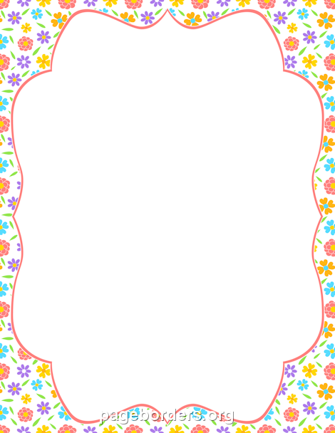Spring clipart border png Pin By Muse Printables On Page Borders And Border Clip Art ... png