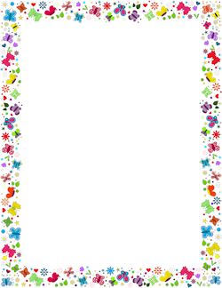 Spring clipart border picture freeuse download Free Spring Borders: Clip Art, Page Borders, and Vector Graphics picture freeuse download
