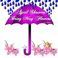 April showers bring may flowers clipart png black and white library April Showers Bring May Flowers - Bing Images | April | Pinterest ... png black and white library