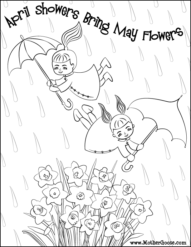 April showers bring may flowers clipart in black and white jpg transparent April showers bring may flowers clipart in black and white ... jpg transparent