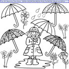 April showers bring may flowers clipart in black and white vector 78 Best images about Months on Pinterest | Crafts, Mother's day ... vector