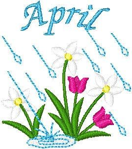 April showers brings may flowers clipart picture black and white April flowers april showers clipart tumundografico – Gclipart.com picture black and white