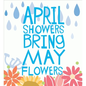 April showers brings may flowers clipart png free stock Silhouette Design Store - View Design #75775: april showers bring ... png free stock