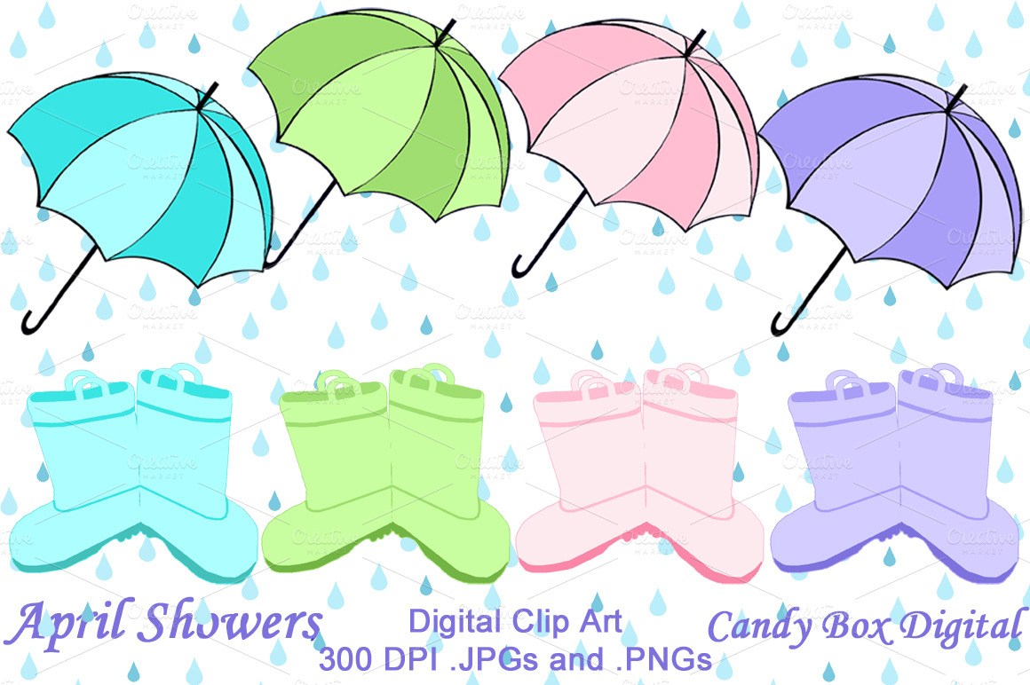 April showers calendar clipart banner freeuse library April Showers Clipart - Clipart Kid banner freeuse library