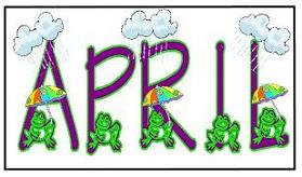 April showers clipart free image library stock April clip art free - ClipartFest image library stock