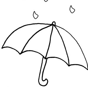 April showers clipart to color picture freeuse stock april showers in raindrop coloring page color luna clipart. rain ... picture freeuse stock