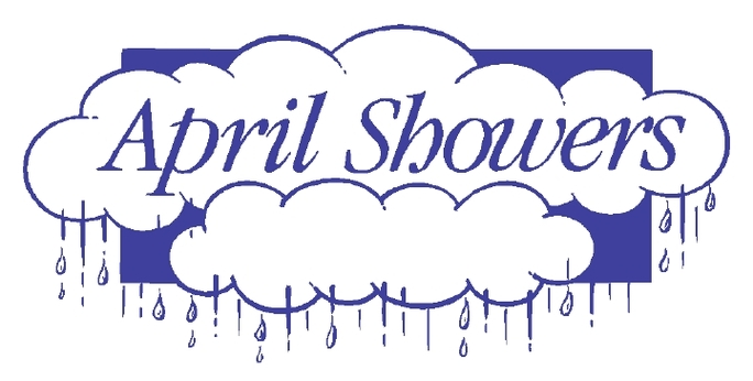 April showers clipart to color png library download April showers clipart black and white - ClipartFox png library download