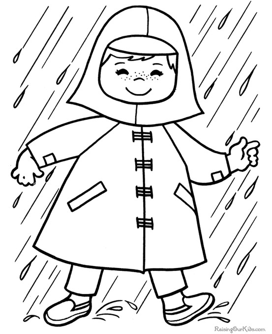 April showers clipart to color clipart freeuse stock April showers clipart to color - ClipartFest clipart freeuse stock