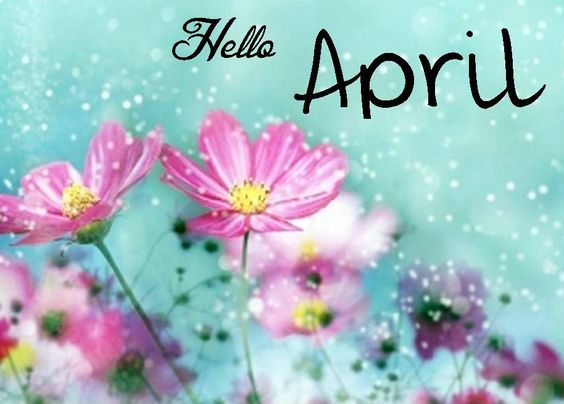 April spring backgrounds png free Hello April   Quotes/Fonts   Pinterest   Calendar, Suddenly and ... png free